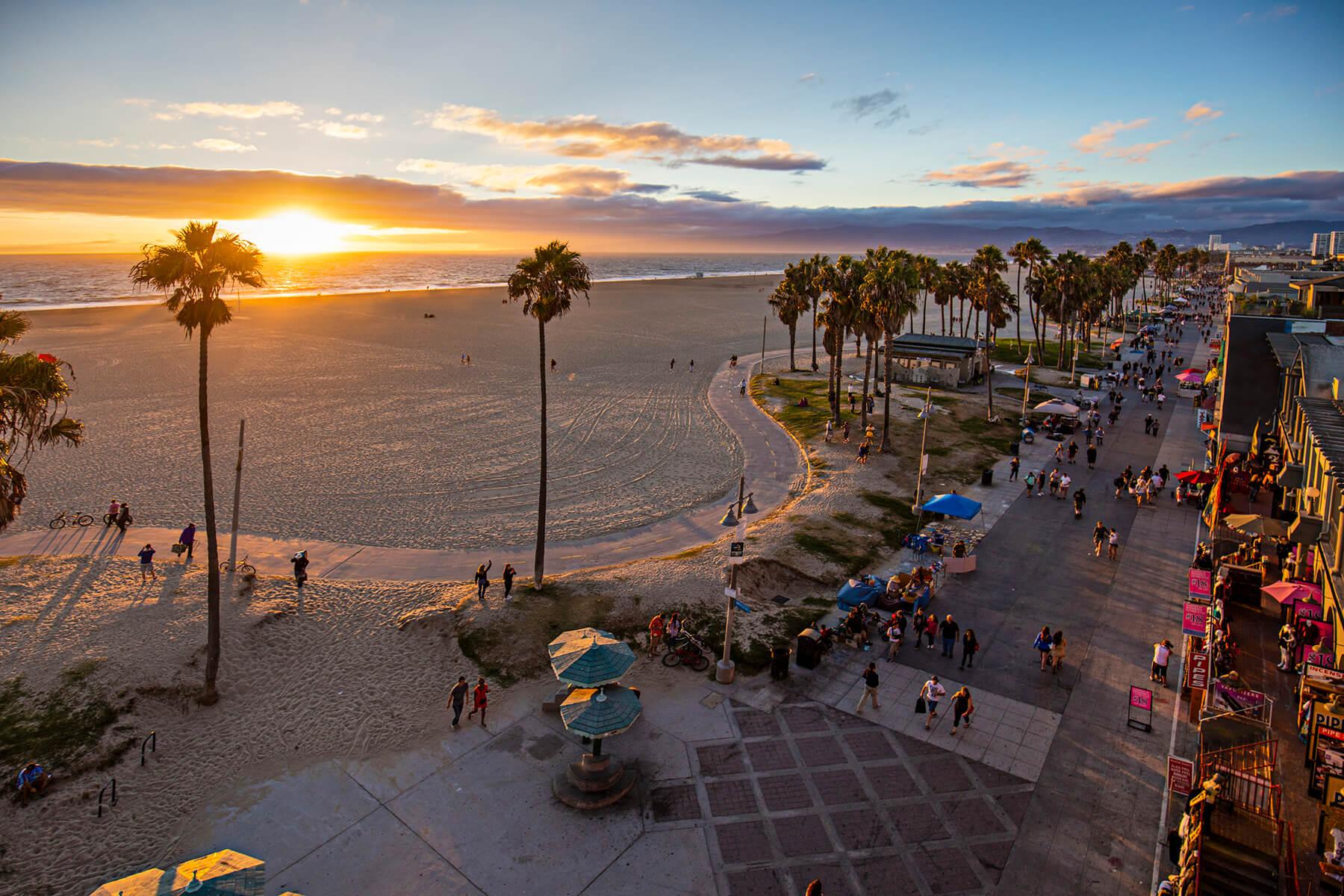 i-wood Venice Beach Aerial